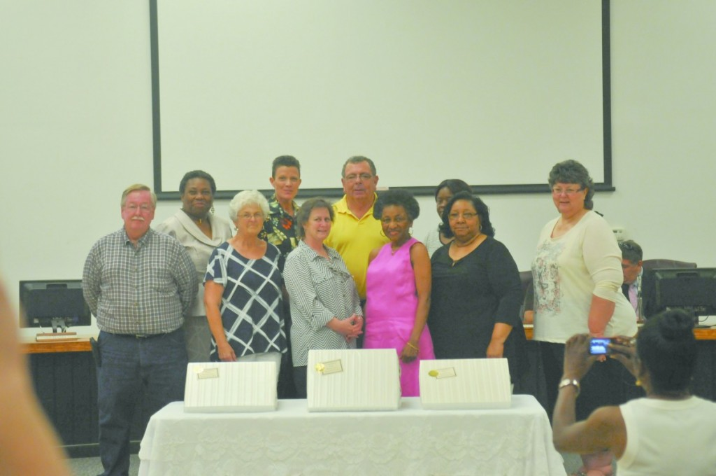 Butler County School System retiring employees. (Photo by Nicole Norris)