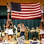 The Greenville High School 2016 homecoming pep rally was held in the GHS gymnasium Friday. GHS students were Tigers United during the pep rally Friday as they showed their patriotism and support for the USA. (Cecil Folds/The Standard)