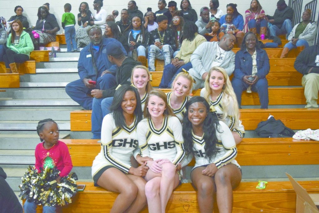 These pretty ladies were out supporting the GHS basketball teams Friday night. Pictured are: front row left to right; Aniyah McClaney, Kaitlyn Neese and De'Jah Bedgood. Back row: left to right; Layla Boutwell, Alyssa Lear and Alyssa Taylor. (Bruce Branum/The Standard)
